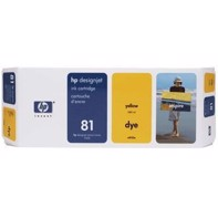 HP 81 - 680 ml Yellow bläckpatron | C4933A