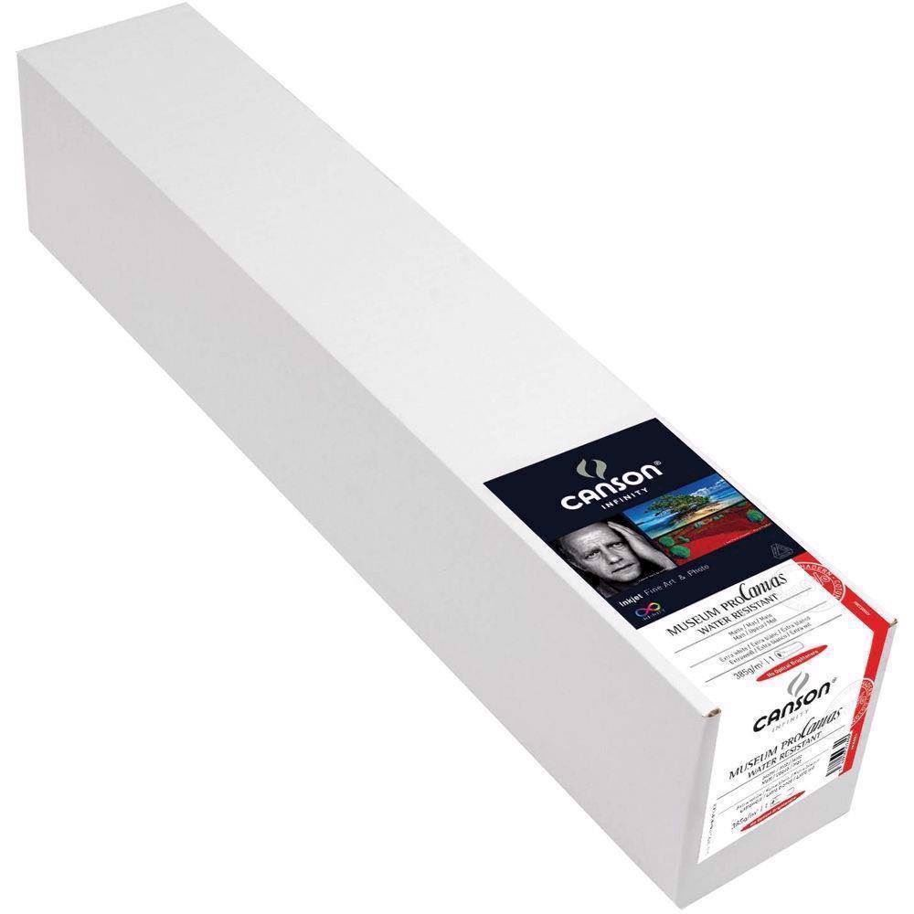 "Canson Museum ProCanvas Water Resistant 385 g/m² - Lustre - 24"" x 12,2 meter"