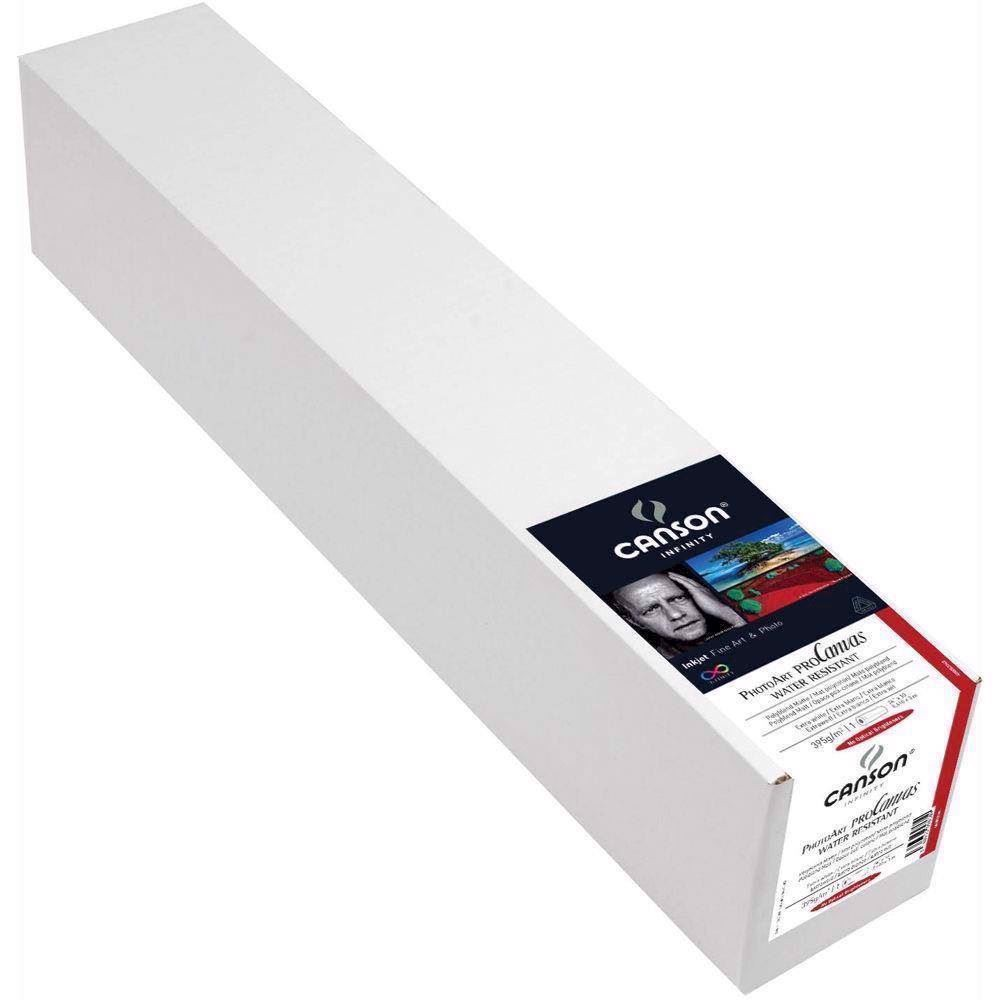 "Canson PhotoArt ProCanvas Water Resistant 395 g/m² - Lustre - 44"" x 12,2 meter"