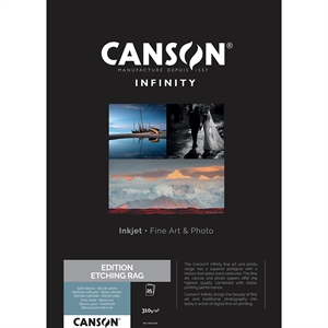 Canson Edition Etching Rag 310 g/m² - A2, 25 ark