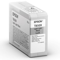 Epson Light Light Black 80 ml bläckpatron T8509 - Epson SureColor P800