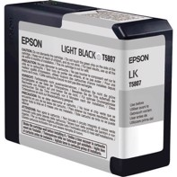 Epson Light Black 80 ml bläckpatron T5807 - Epson Pro 3800 och 3880