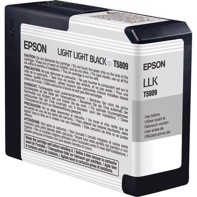 Epson Light Light Black 80 ml bläckpatron T5809 - Epson Pro 3800 och 3880