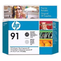 HP 91 - Photo Black och Light Gray Skrivarhuvuder | C9463A