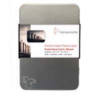 Hahnemühle FineArt Baryta Satin Photo cards 300 g/m² - 10x15 cm - 30 ark