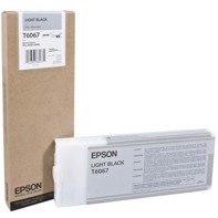 Epson Light Black 220 ml bläckpatron T6067