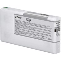 Epson Light Black T9137 - 200 ml bläckpatron